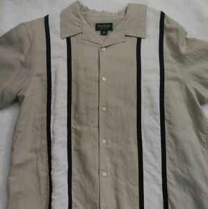 Mens David Taylor Shirt sz Large
